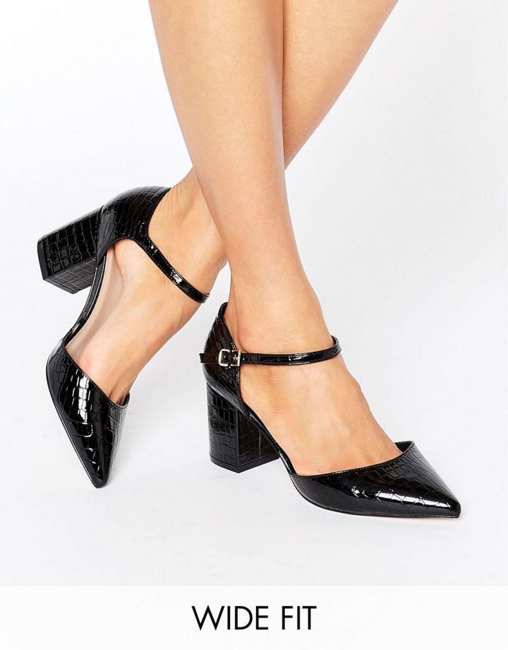 Product photo of ASOS SORAYA Wide Fit Pointed Heels