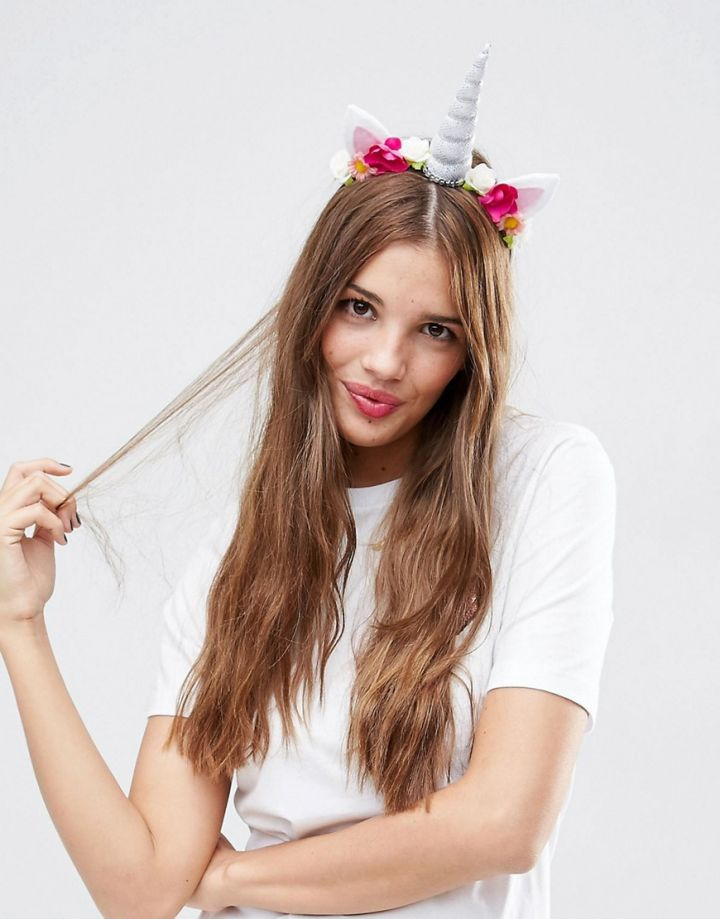 Product photo of ASOS Unicorn Headband
