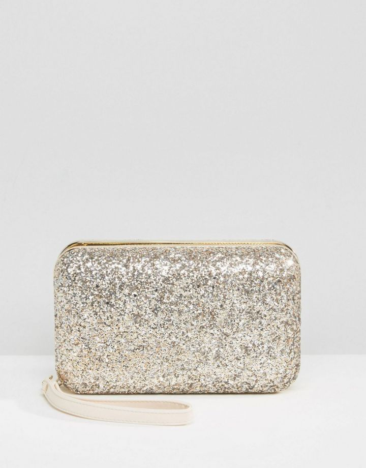 Product photo of Carvela Glitter Box Clutch