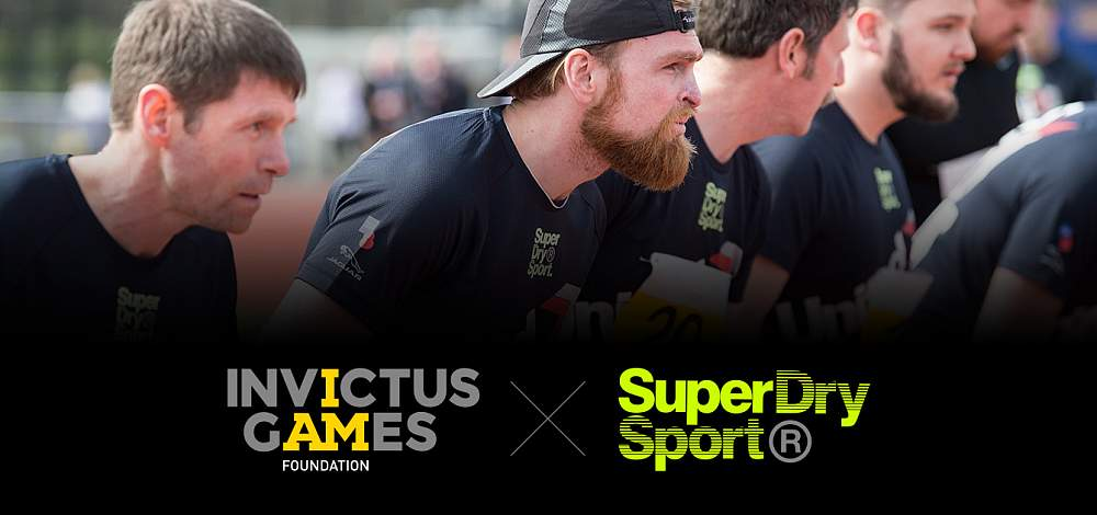 Invictus Games: Team UK and Superdry Sport