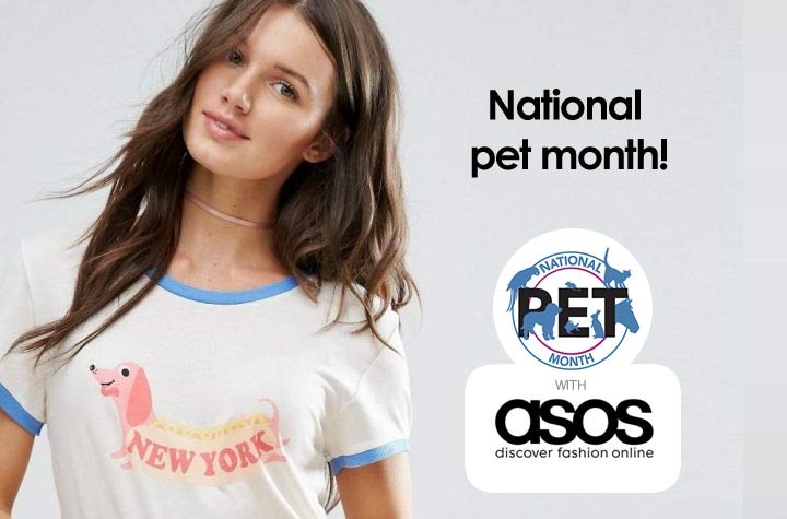 National pet month - Love your pet!
