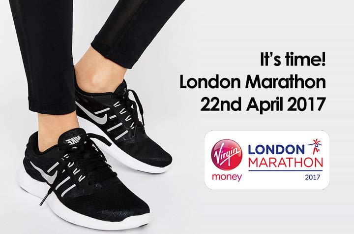 London Marathon - Let's get running!