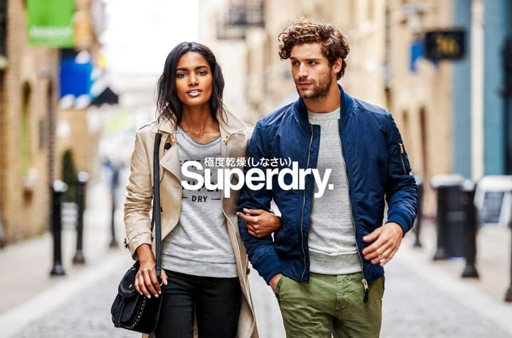Superdry new season mens and womens fashions!